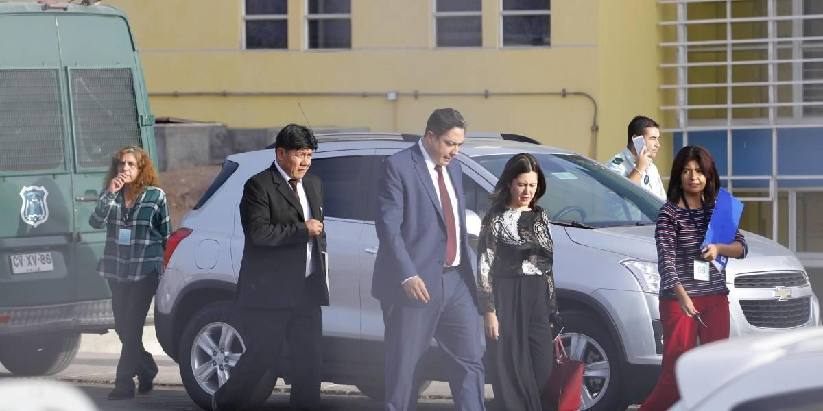 Ministro de Justicia boliviano visitó a sus compatriotas presos en Alto Hospicio