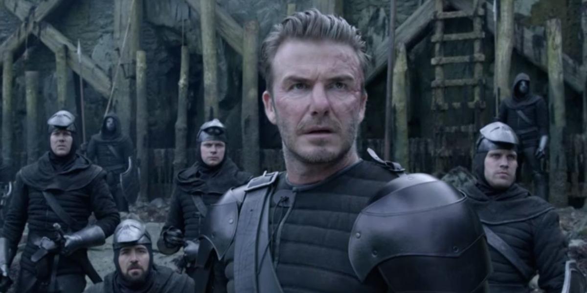 """La trascendental escena de David Beckham en """"El Rey Arturo: La Leyenda de la Espada"""""""