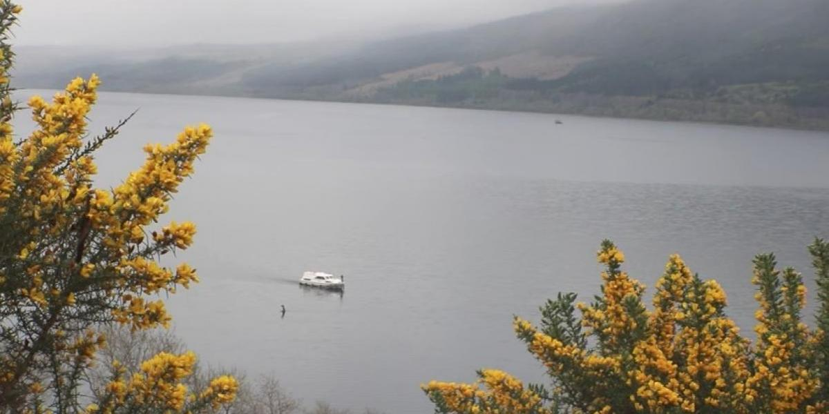 """El video que muestra el """"regreso"""" del monstruo del Lago Ness"""