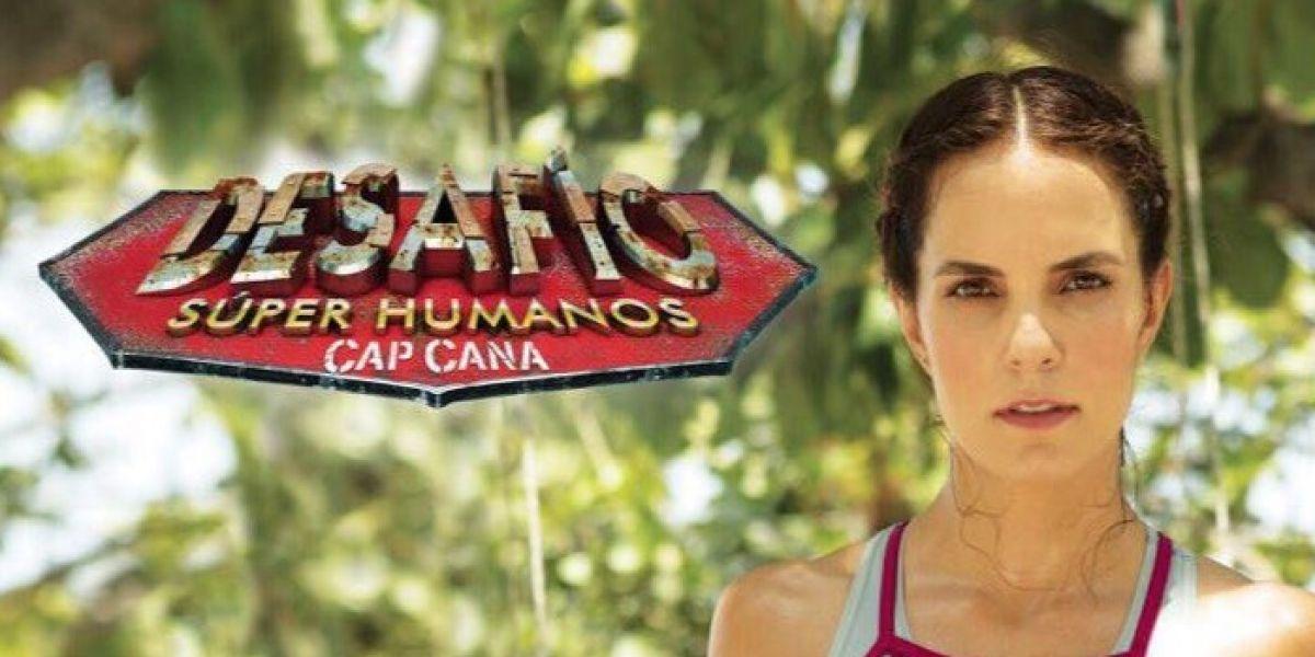 Catalina Aristizábal muestra la primera imagen del 'Desafío Súper Humanos'