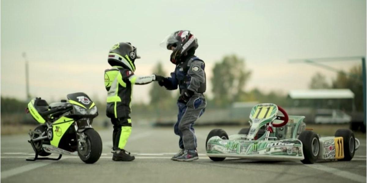 VIDEO: Motociclista de cinco años conquista las pistas