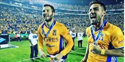 Tigres goleó a Rayados de la mano de Gignac y Dueñas