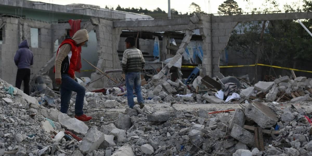 PGR inicia investigación por explosión en Chilchotla, Puebla