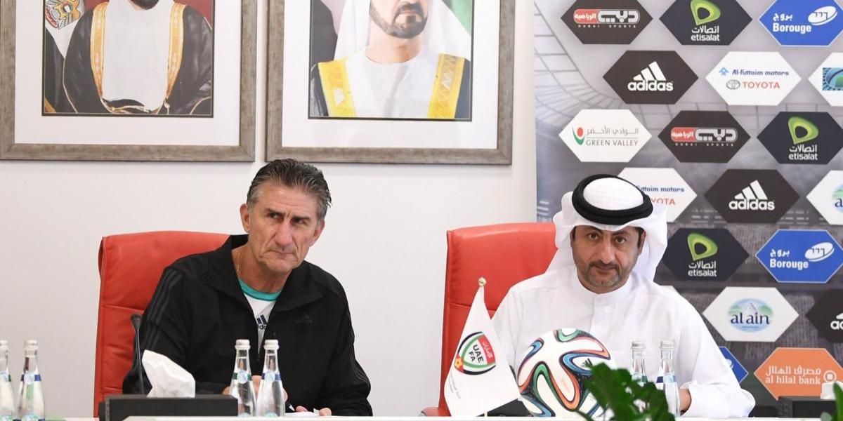 Bauza firmó como nuevo técnico de la selección de Emiratos Árabes y luchará por un cupo en Rusia 2018