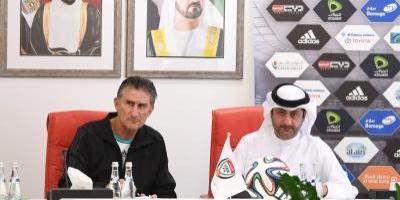 Bauza fue presentado como el nuevo DT de Emiratos Arabes