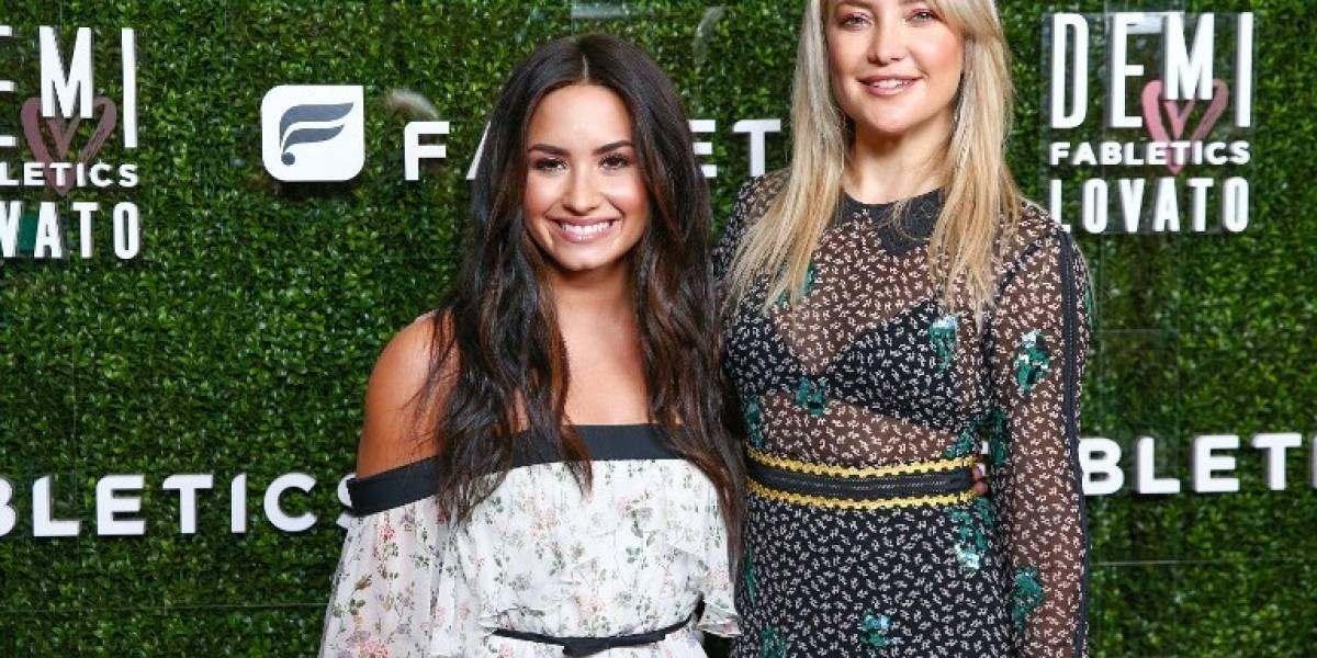 Demi Lovato y Kate Hudson colaboran con marca de ropa deportiva