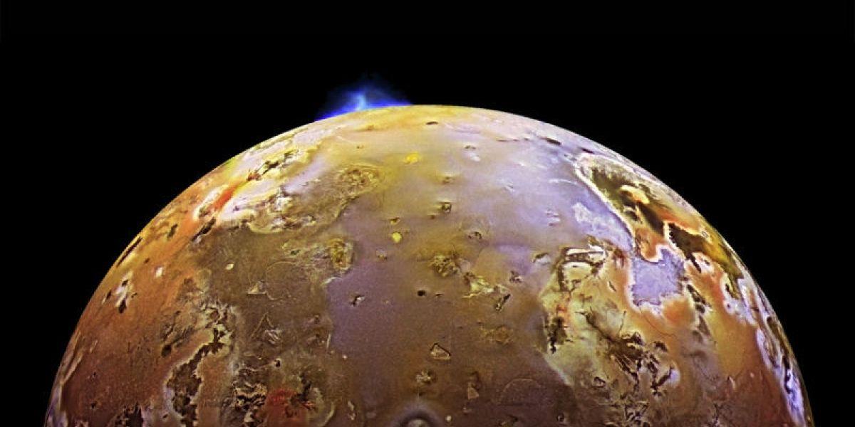 Júpiter: Detectan tsunamis masivos de lava en el volcán más grande de la luna Io
