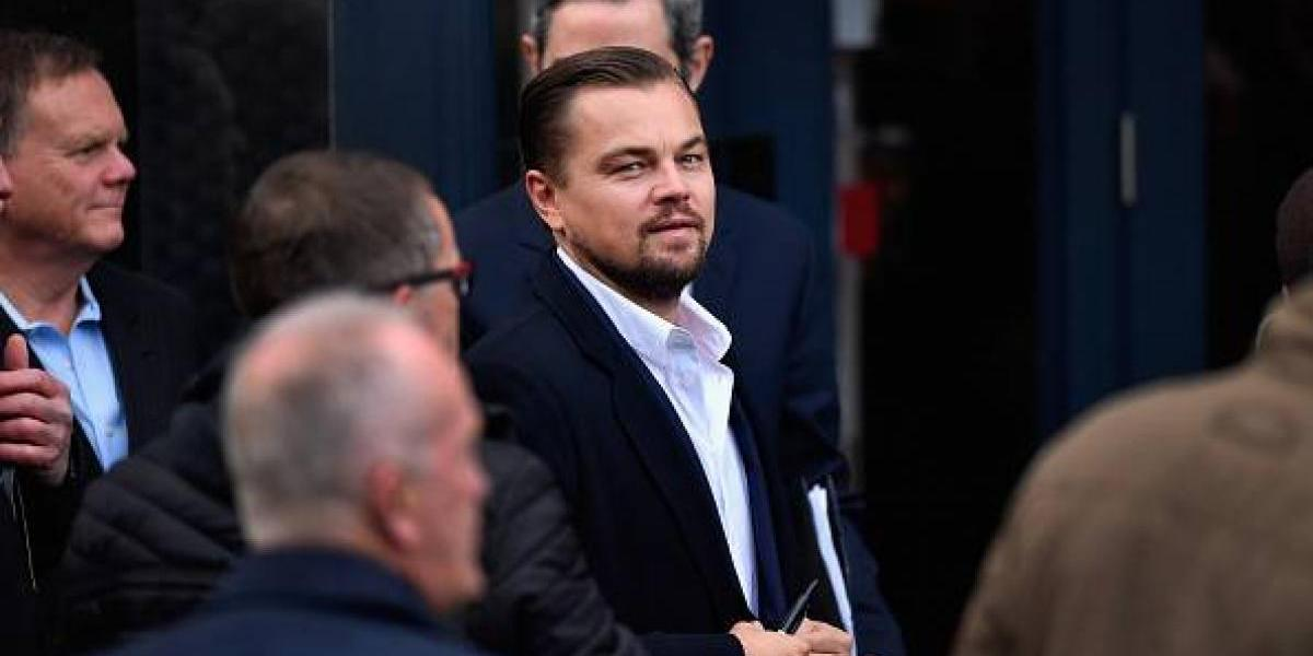 Leonardo DiCaprio manda mensaje a Enrique Peña Nieto