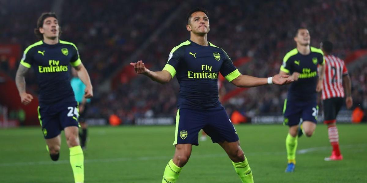 El selecto grupo de goleadores de Arsenal al que se unió Alexis Sánchez