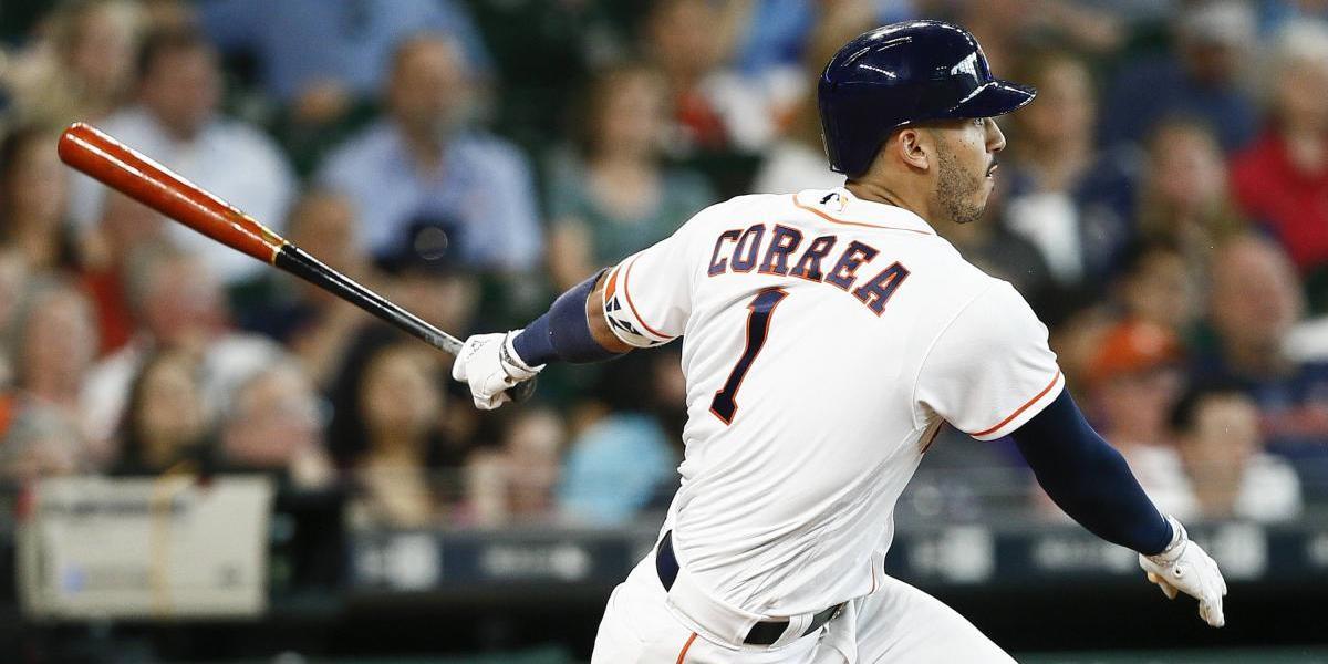 Carlos Correa golpea temprano en el Yankee Stadium