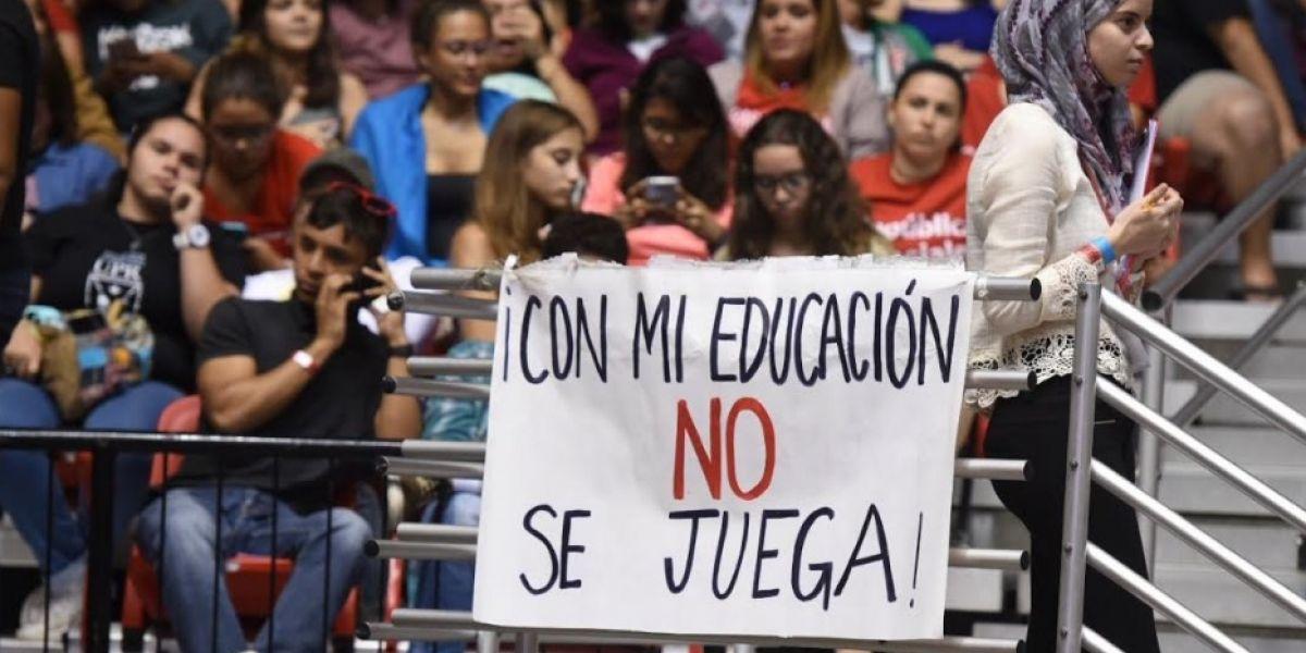 Convocan protesta a favor de abrir los portones de UPR Carolina