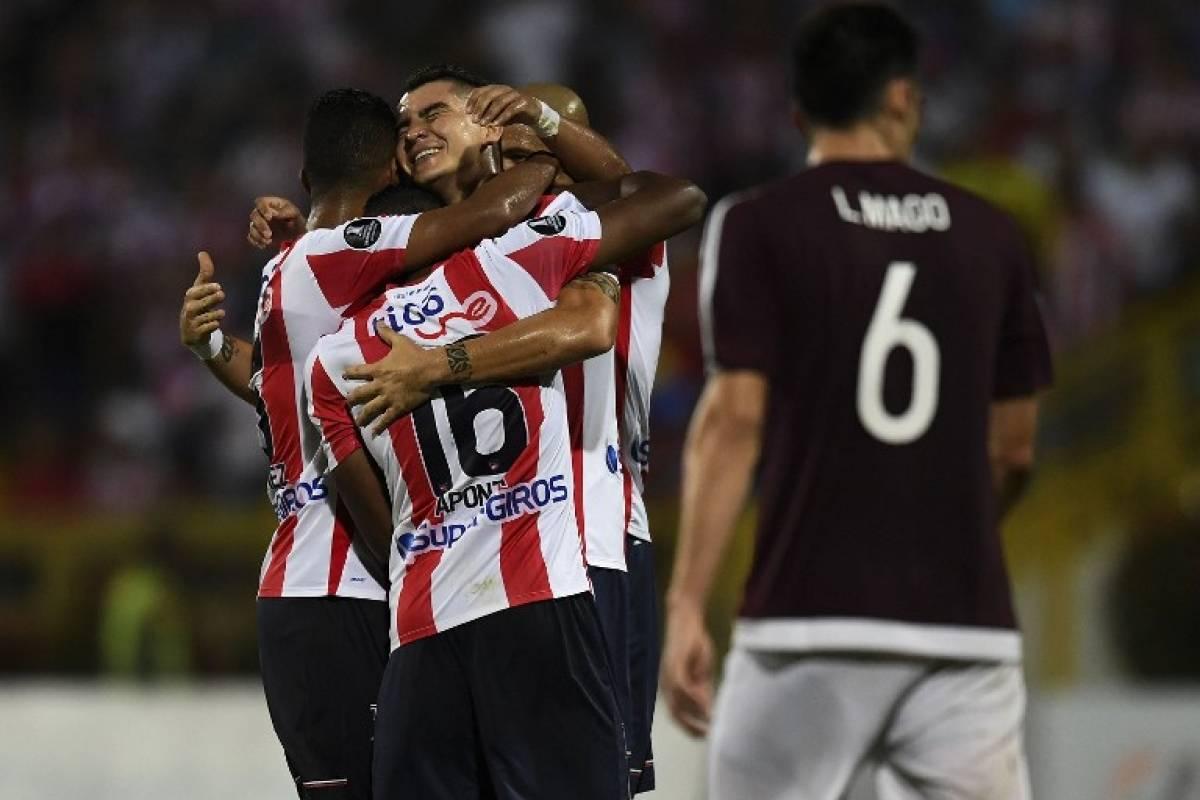 Junior (Colombia). Es uno de los dos mejores perdedores de la segunda fase de la Copa Libertadores / AFP