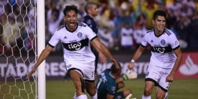 Olimpia (Paraguay). Es uno de los dos mejores perdedores de la segunda fase de la Copa Libertadores / AFP
