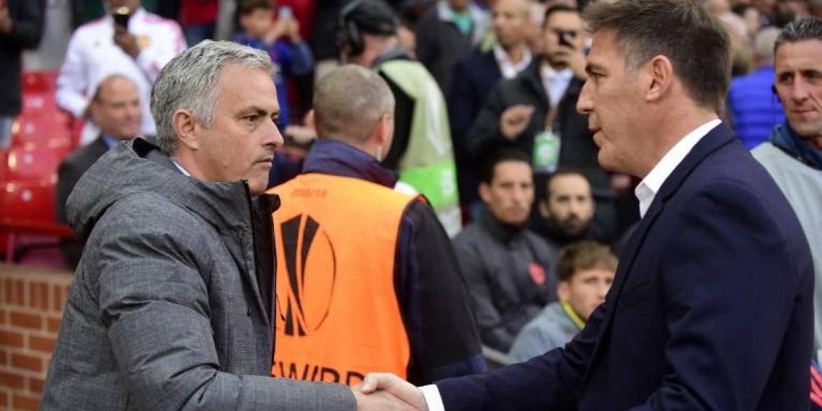 """Los elogios de Mourinho al Celta de Berizzo: """"Han estado fantásticos"""""""