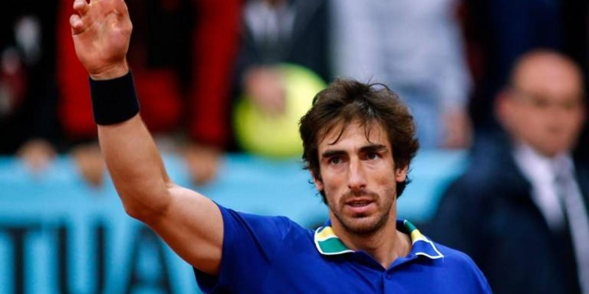 El notable punto del uruguayo Cuevas para meterse en las semifinales de Madrid