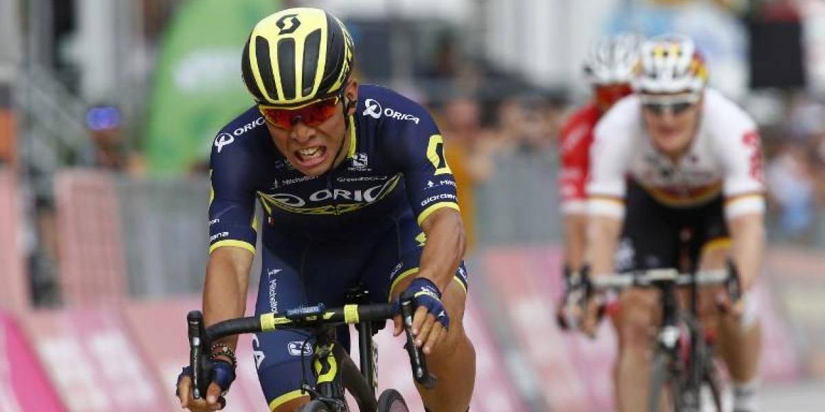 El australiano Ewan frustra al colombiano Gaviria gana la 7ª etapa del Giro de Italia