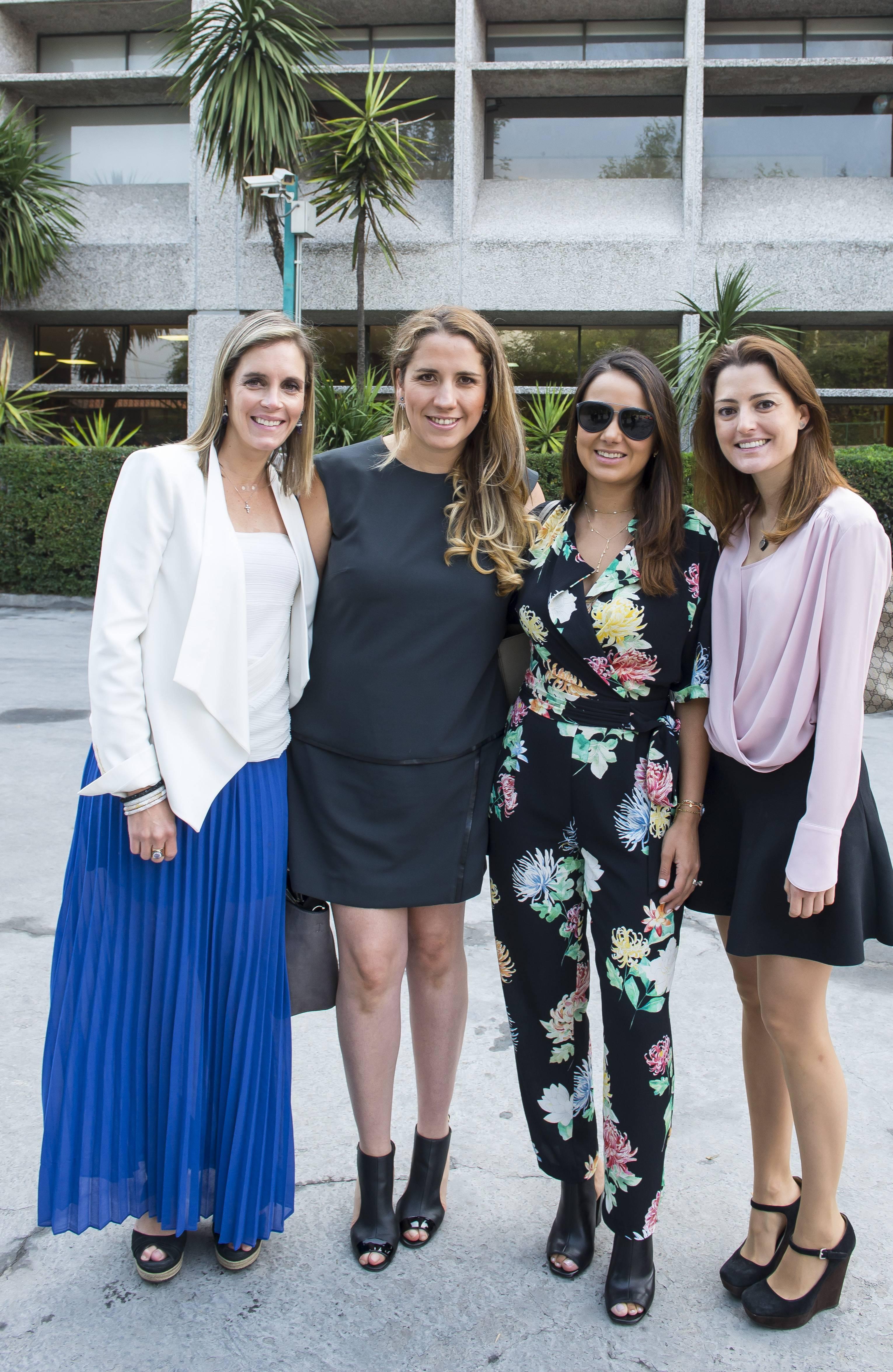 Ana Lidia Salceda, Jimena Anaya, Patricia Romo y Covadonga Rozados JDS