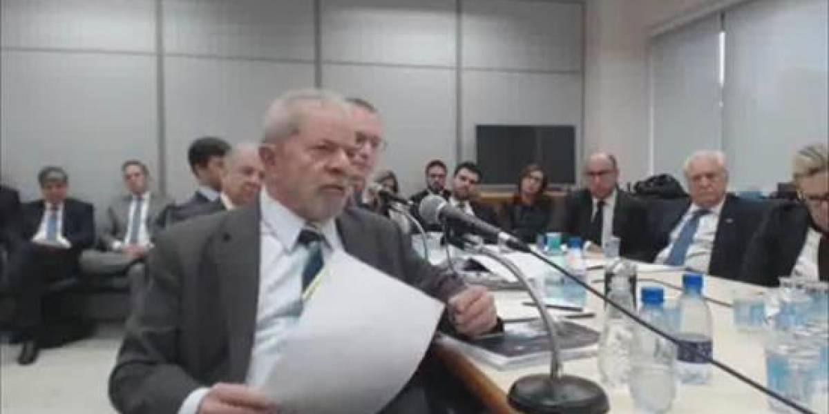 El extravagante diálogo de Lula da Silva con el juez Sergio Moro
