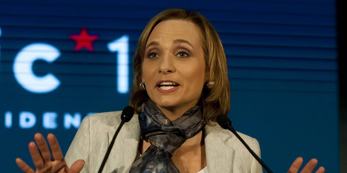 Carolina Goic presentó su programa e inscribió su candidatura presidencial
