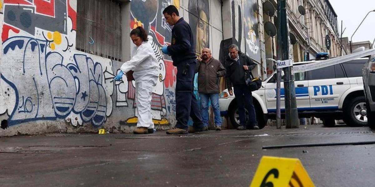 Nueva balacera de Valparaíso deja un muerto y una persona en estado de gravedad