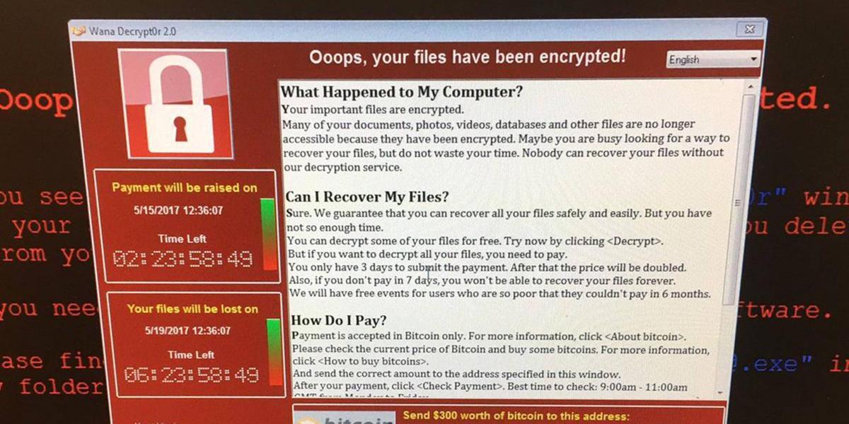 Ciberataque de ransomware afecta hospitales en Reino Unido y empresas en 74 países