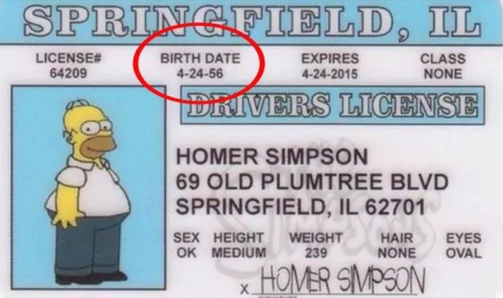 Celebra Homero Simpson su cumpleaños número 61