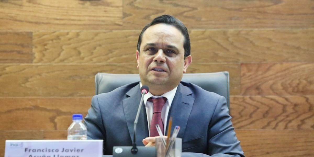 Eligen a Javier Acuña Llamas como nuevo presidente del INAI