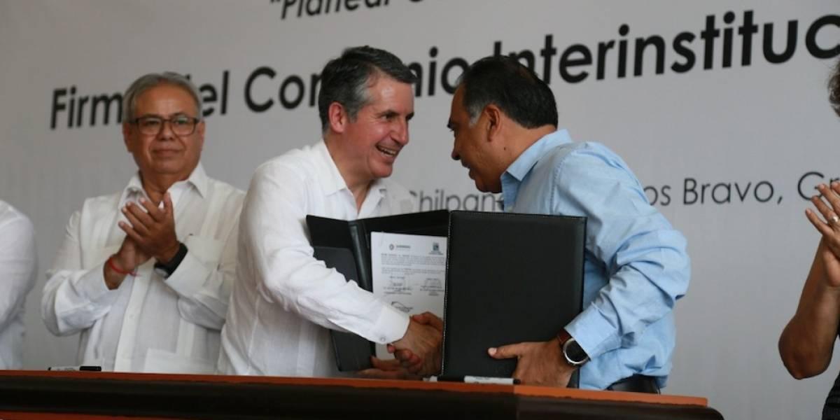 Gobierno de Guerrero e INEGI firman convenio para el reforzamiento de programas sociales