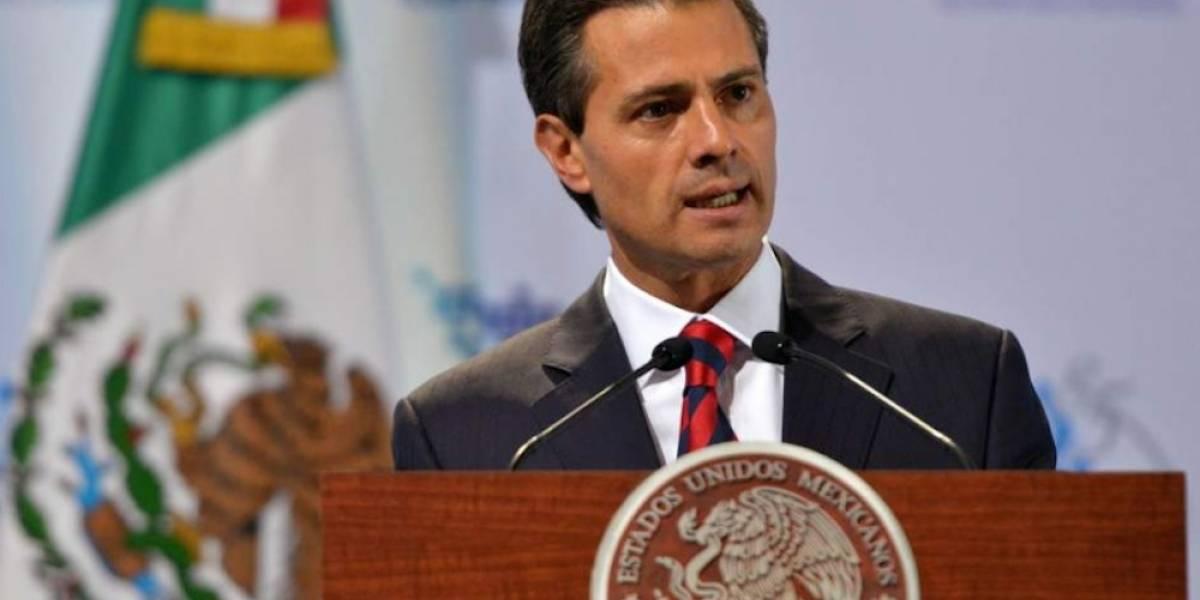 Peña Nieto felicita a Javier Acuña por su nombramiento como presidente del INAI