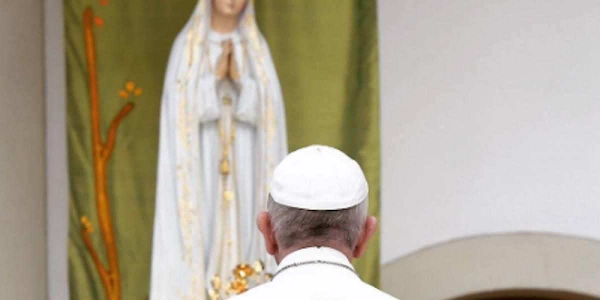 Papa Francisco conmemora el centenario de las visiones de la Virgen de Fátima