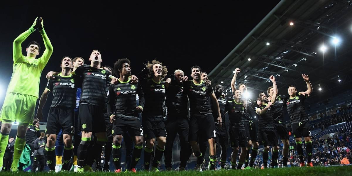 ¡Chelsea campeón! Los Blues se coronaron en la Liga Premier venciendo al West Brom