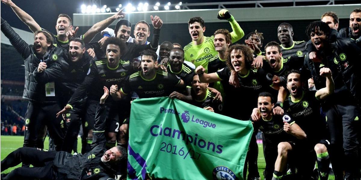 Las increíbles imágenes del Chelsea tras coronarse campeón