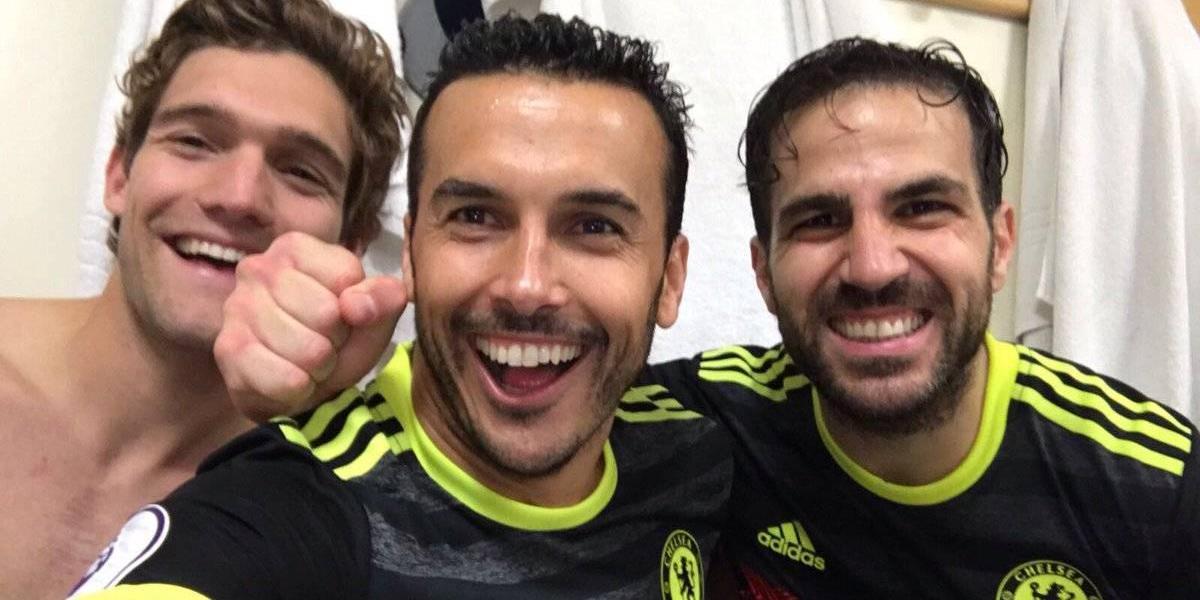 VIDEO: Chelsea celebra el título a ritmo de 'Despacito'