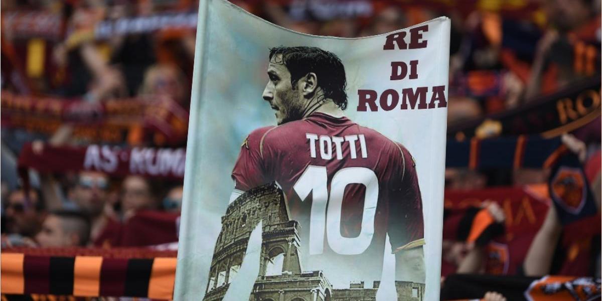La afición promete una gran despedida a Francesco Totti