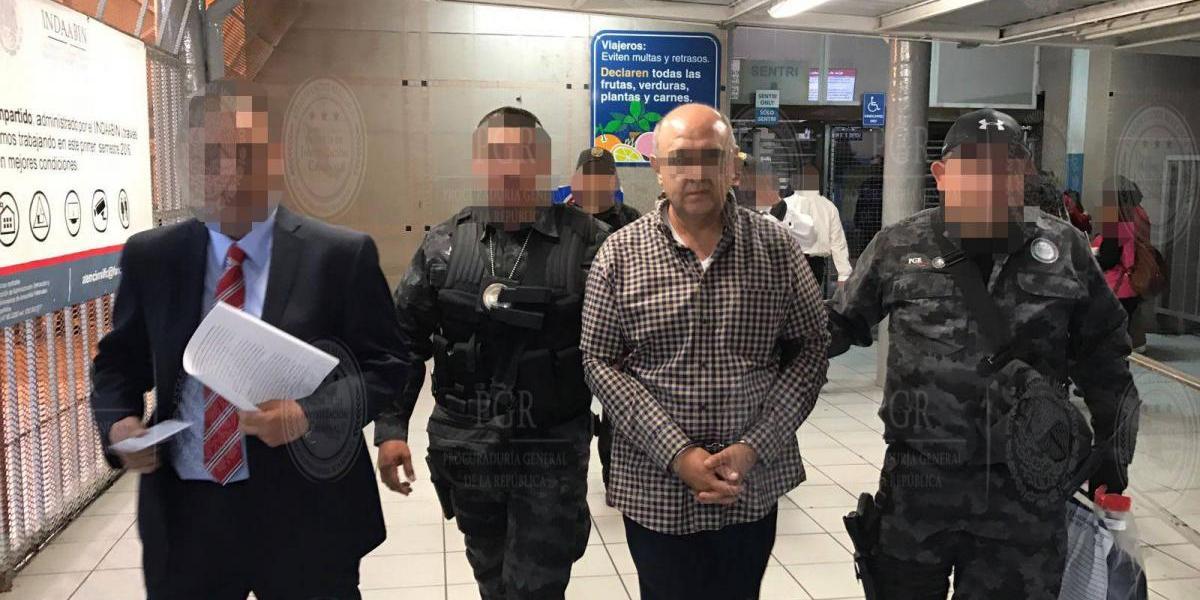 Estados Unidos extradita a Valentín Castillo, ex colaborador de Guillermo Padrés