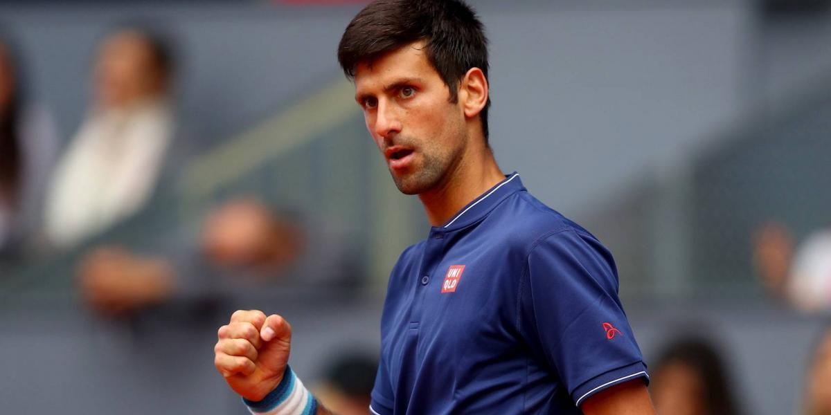 Djokovic avanza a la semifinal del Abierto de Madrid