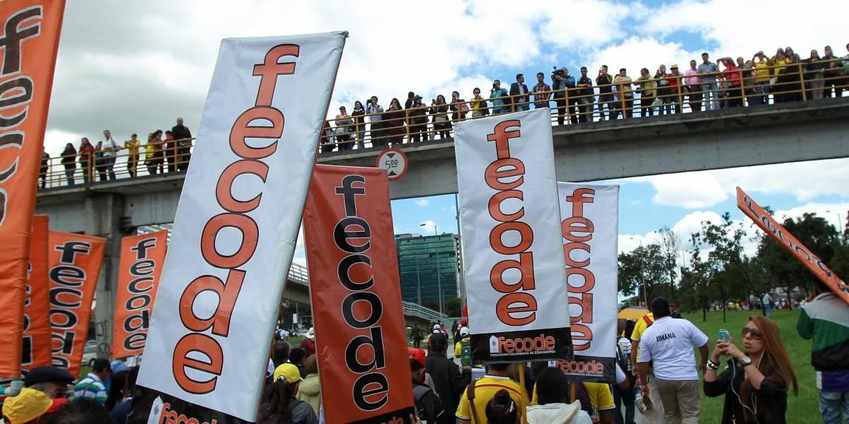 Fecode confirma paro de maestros desde este 21 de febrero