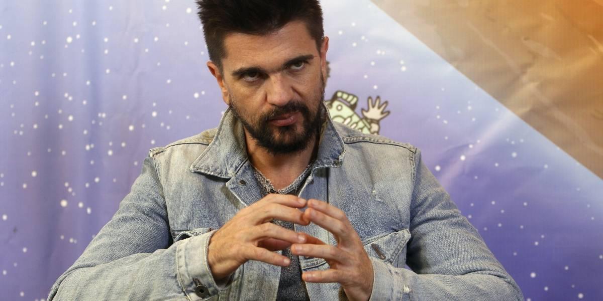 Con duros argumentos, Juanes también se opone a la ley de financiamiento