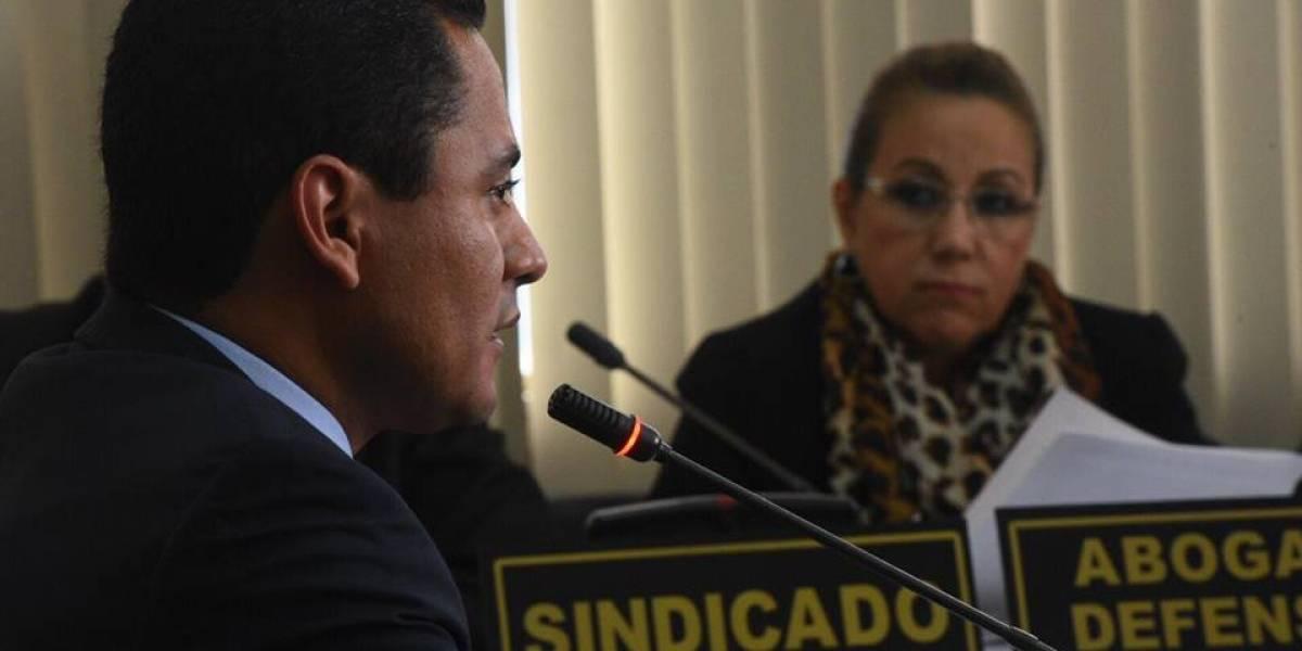 Caso Stalling: Juez Carlos Ruano declara en audiencia de anticipo de prueba