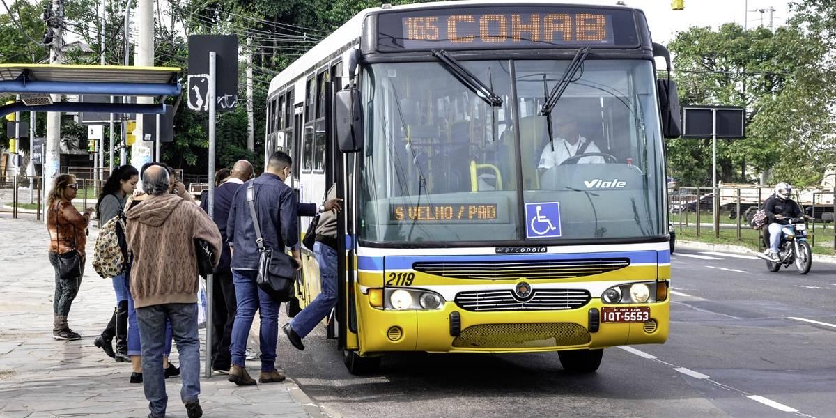 EPTC testa integração nos ônibus em Porto Alegre