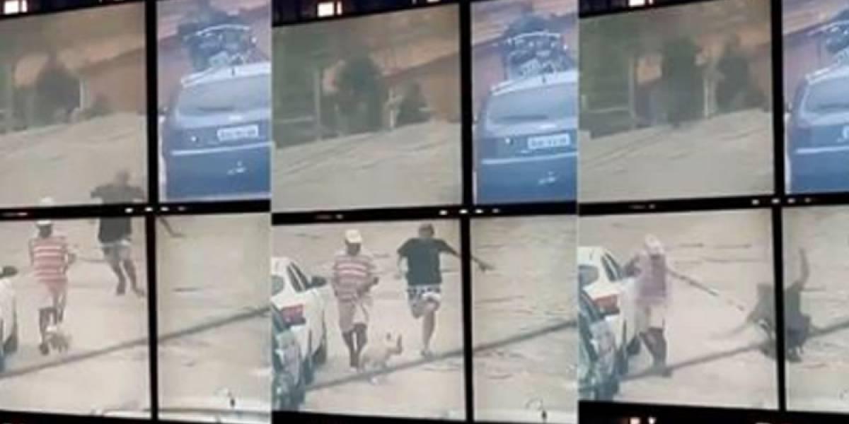 Hombre que escapaba de la Policía, neutralizado por un 'viandante' en Brasil