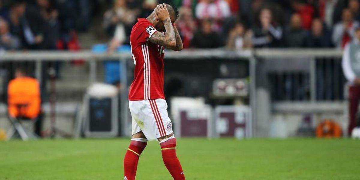 """En Alemania se lanzan contra Vidal: Es un """"diablo"""" y """"no es un líder"""" en el Bayern"""