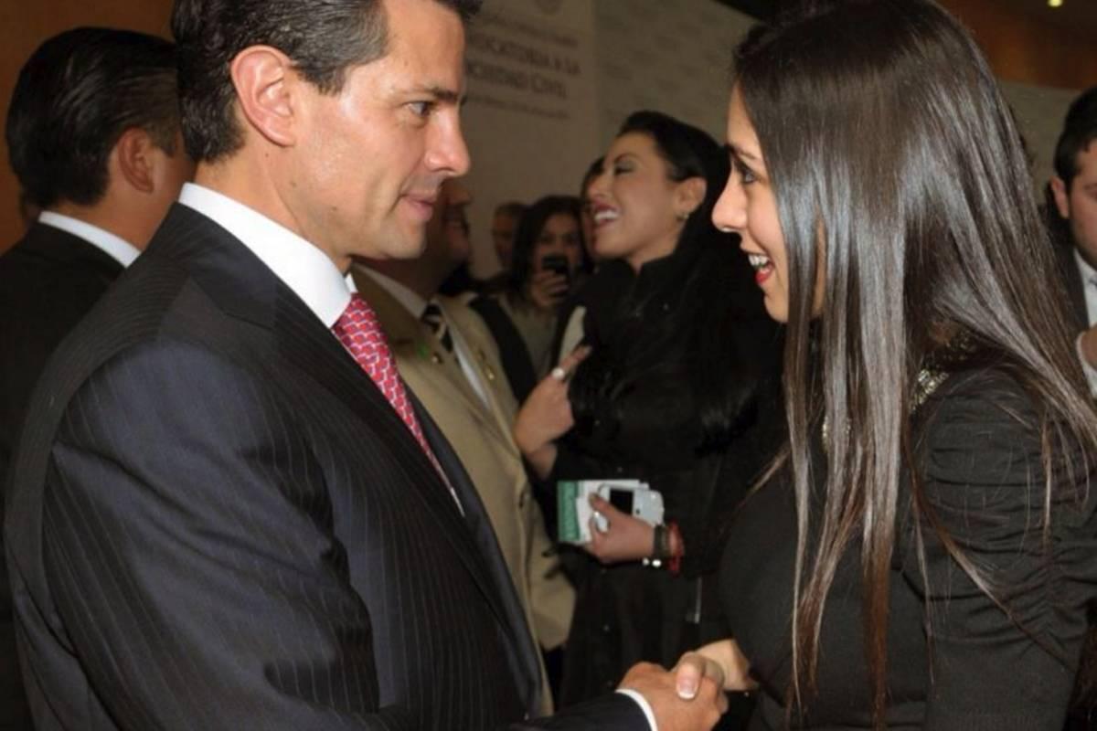 Hanna y Enrique Peña Nieto Facebook