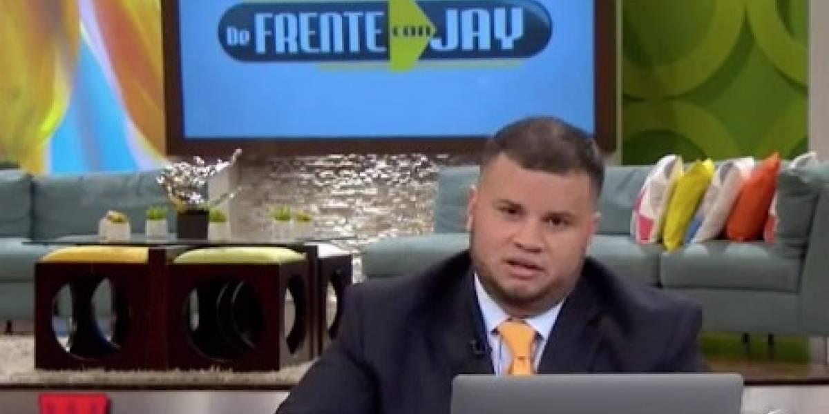 Jay Fonseca a Fortuño: No me disculpo; usted ha cabildeado en el Congreso