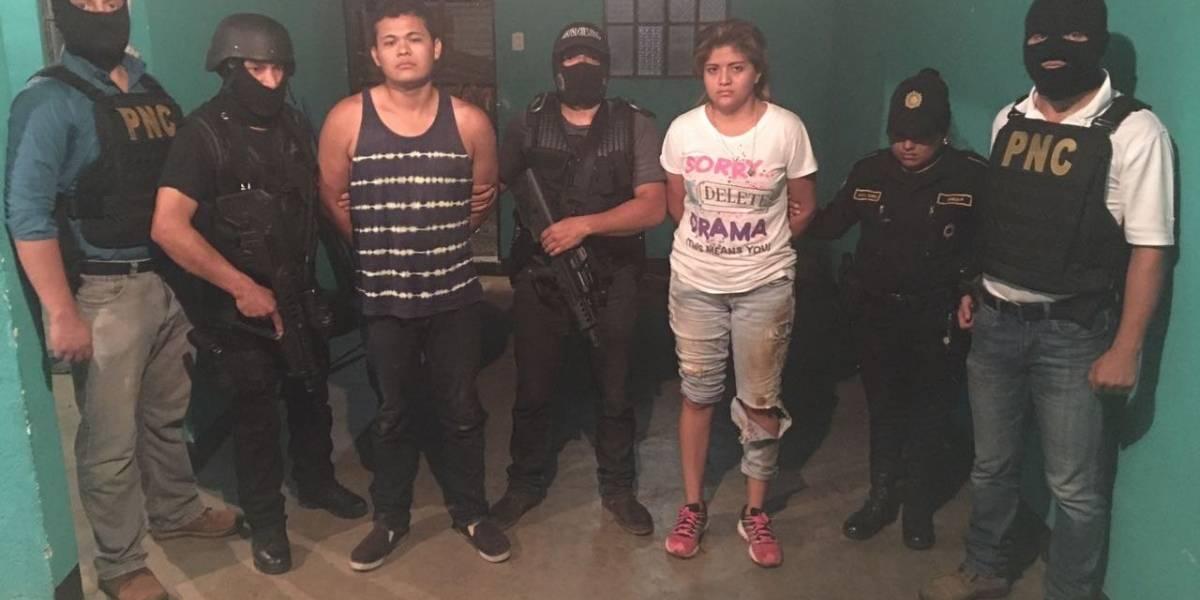 Comando Antisecuestros captura a dos personas y libera a víctima en Villa Nueva