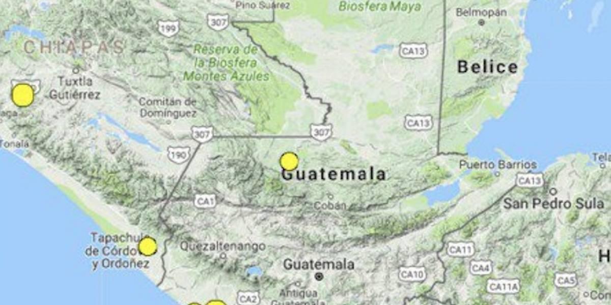 Tres sismos se registraron este viernes, según Insivumeh