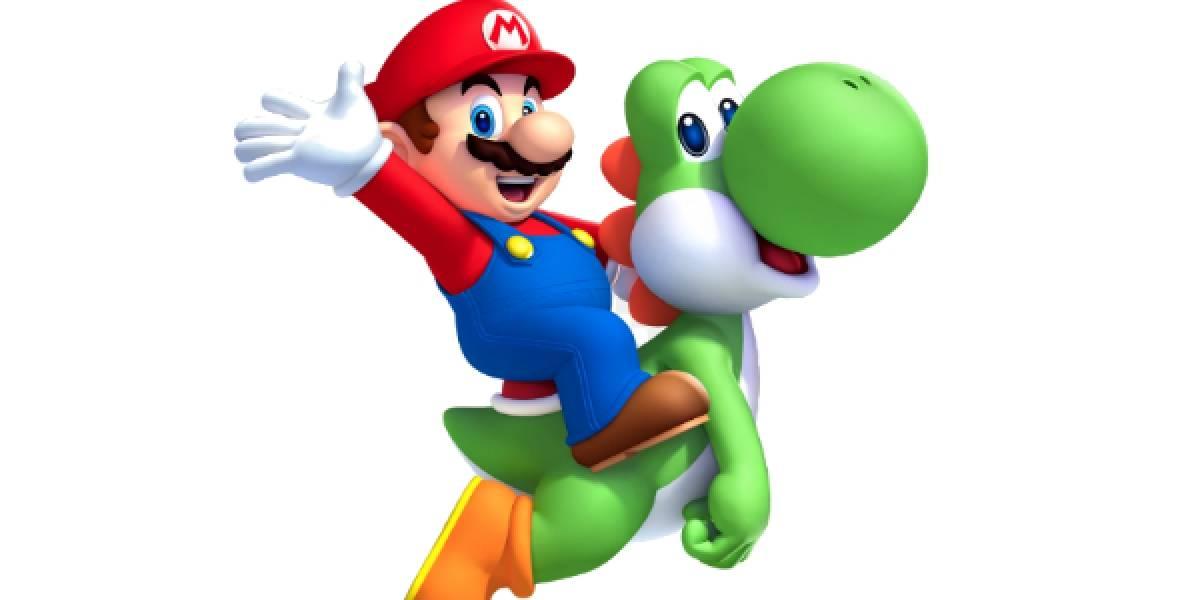 Lanzan estampillas postales de Super Mario Bros