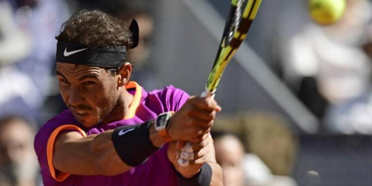 Un sólido Rafael Nadal vence a Novak Djokovic y avanza a la final de Madrid
