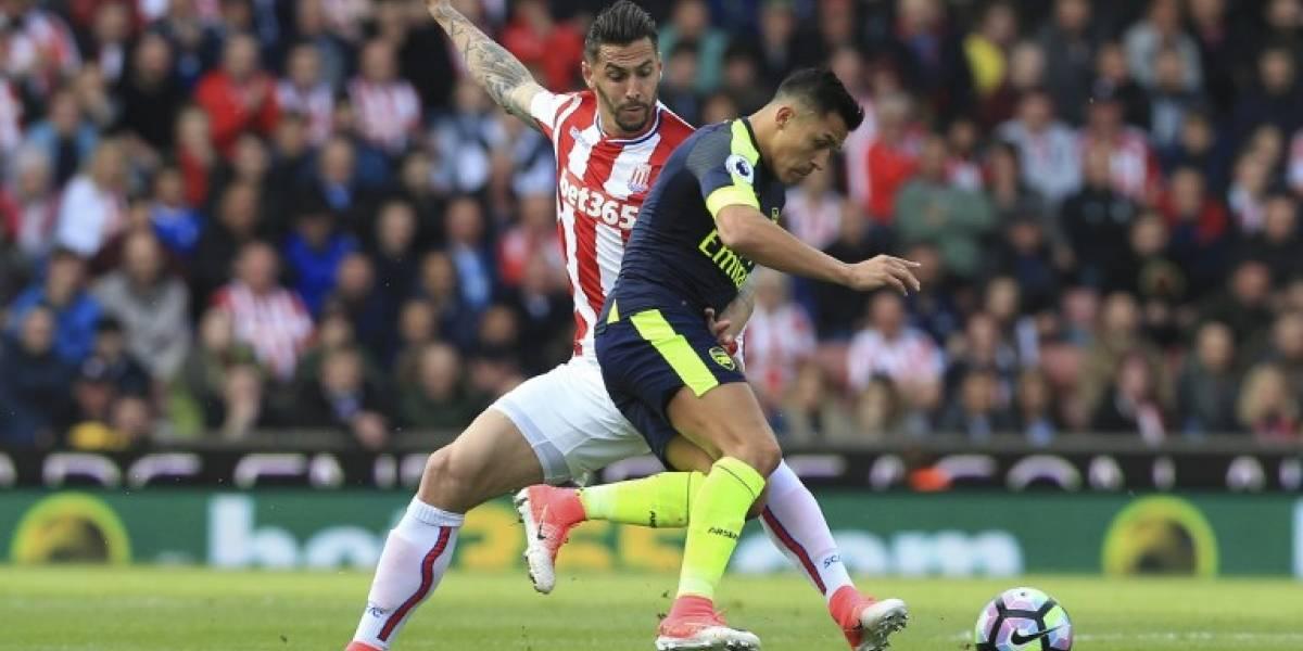En directo: El Arsenal de Alexis se ilusiona con la Champions con triunfo sobre Stoke City