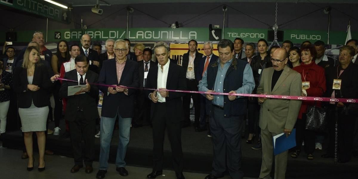 Inauguran exposición de boxeo en metro Garibaldi/Lagunilla